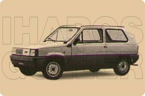 FIAT PANDA 1 1980.01-1985.12 /141/