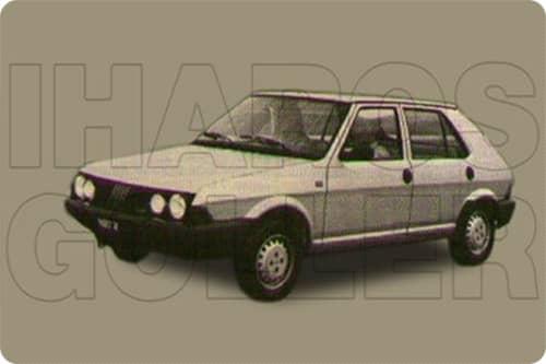 FIAT RITMO 3 1983.01-1988.12