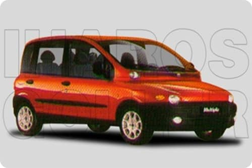 FIAT MULTIPLA 1 1998.11-2002.02