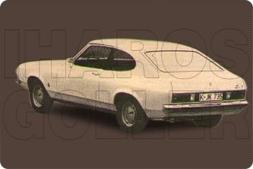 FORD CAPRI 2+3 1974.01-1987.04