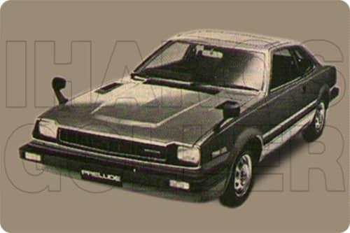 HONDA PRELUDE 1 1978.01-1982.12