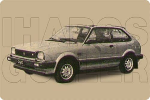 HONDA CIVIC 2 1981.09-1983.08