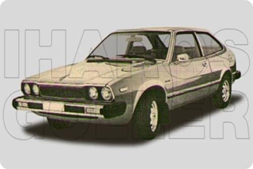 HONDA ACCORD 1 1976.12-1981.12