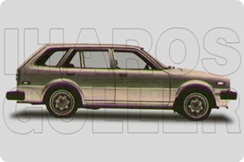 HONDA CIVIC 2 1979.09-1981.08