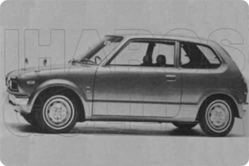 HONDA CIVIC 1 1973.01-1979.08