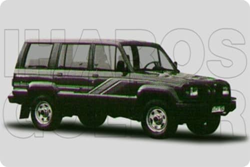 ISUZU TROPPER 1984.01-1991.12