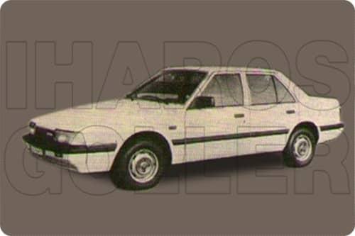 MAZDA 626 1982.04-1987.05 /GC/