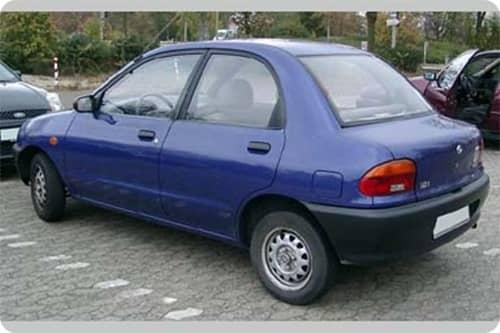 MAZDA 121 1990.12-1996.02 /DB/