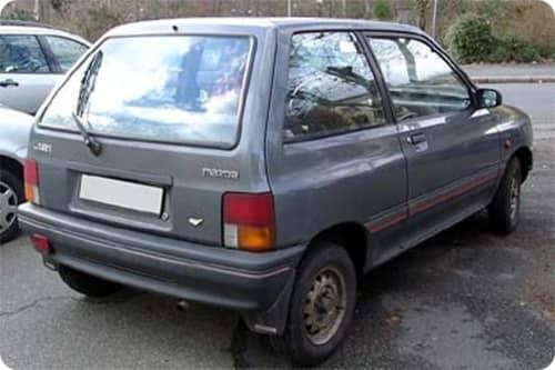 MAZDA 121 1988.01-1990.11 /DA/