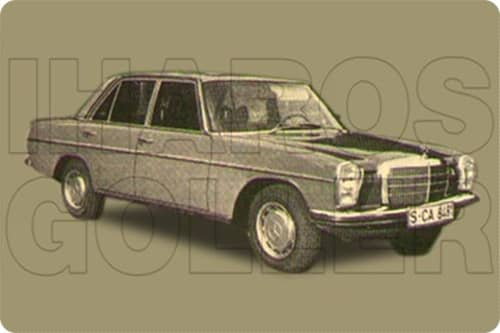 MERCEDES W114,W115 1968.01-1976.01