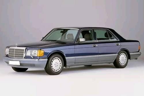 MERCEDES S W126 1979.10-1991.07