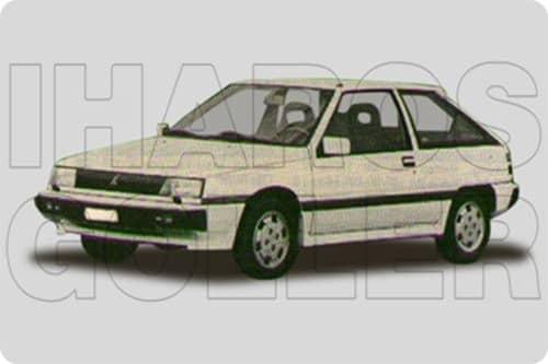 MITSUBISHI COLT 2 1986.06-1989.02 /C10/
