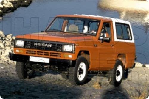 NISSAN PATROL 1980.06-1989.01 /K160,W160/