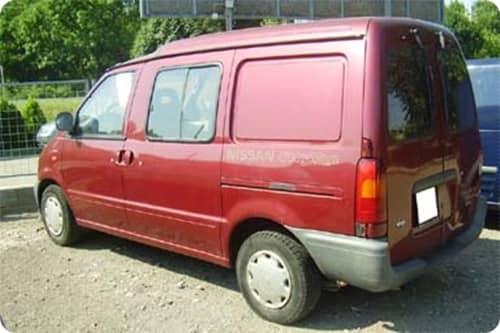 NISSAN VANETTE Cargo 1995.01-2001 /HC23/