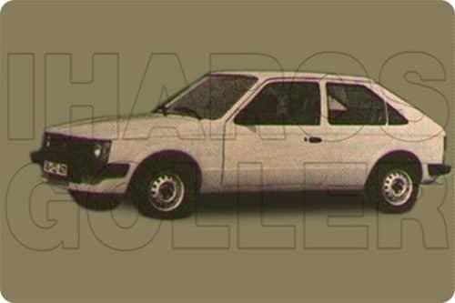 OPEL KADETT D 1979.08-1984.08
