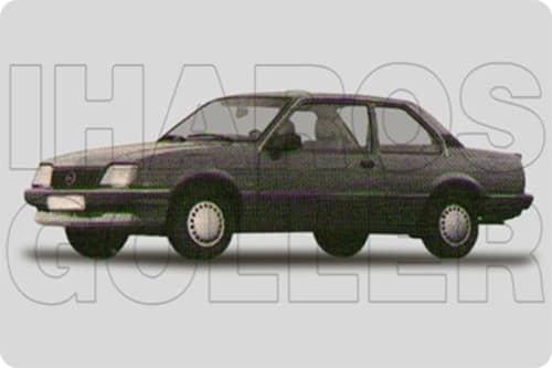 OPEL ASCONA C 1981.09-1987.08 /J82/