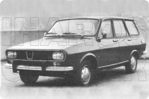 RENAULT R12 1968.01-1979.09