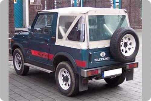 SUZUKI SAMURAI SJ410 1981.09-1986.01
