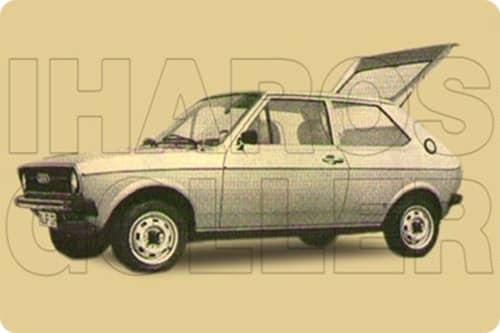 AUDI 50 1974.09-1978.08 /Typ86/