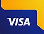 visa bankártyával